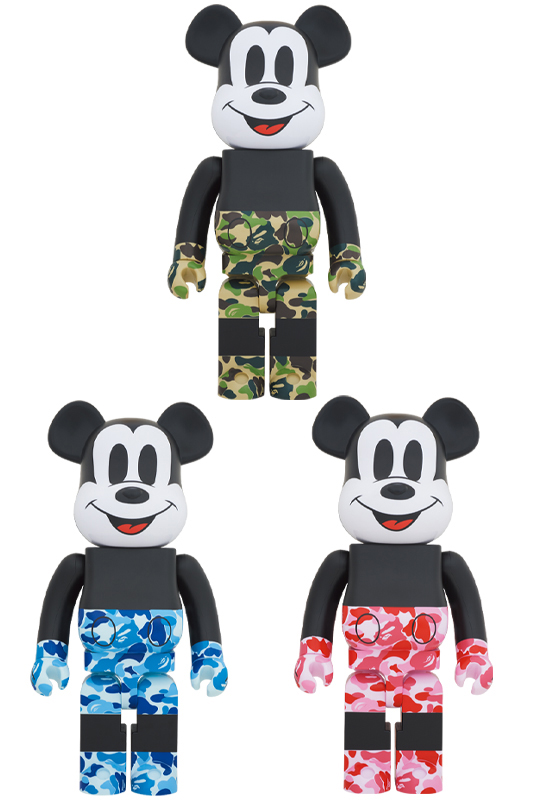 BE@RBRICK BAPE(R) MICKEY MOUSE 1000%