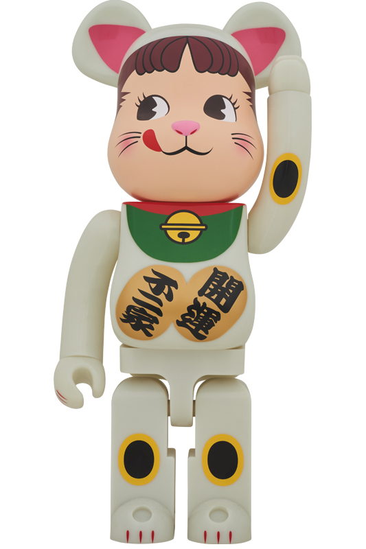 BE@RBRICK 招き猫 ペコちゃん 蓄光 1000%
