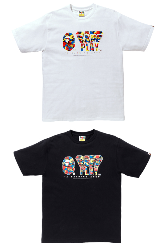 MEDICOM TOY CAMO BAPE PLAY TEE