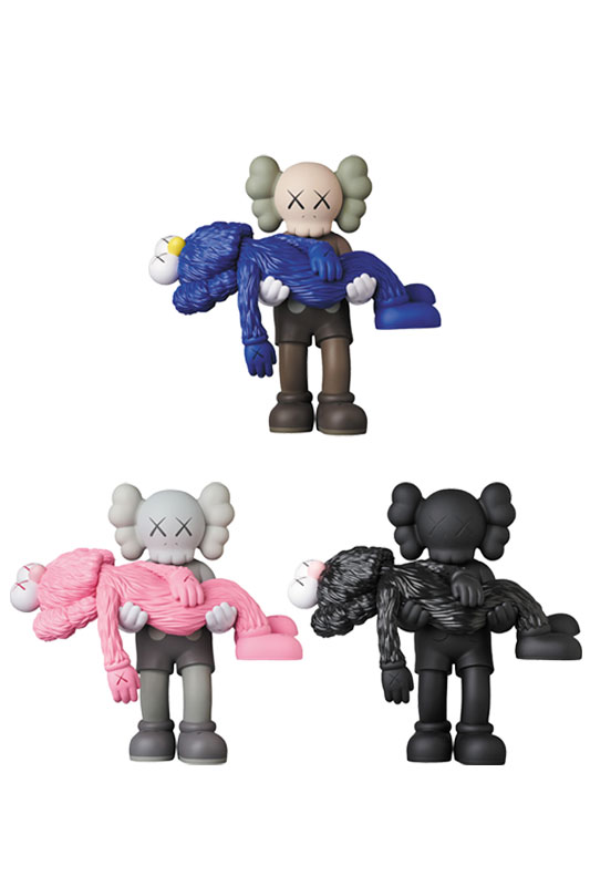KAWS GONE BROWN/GREY/BLACK※キャンセル不可