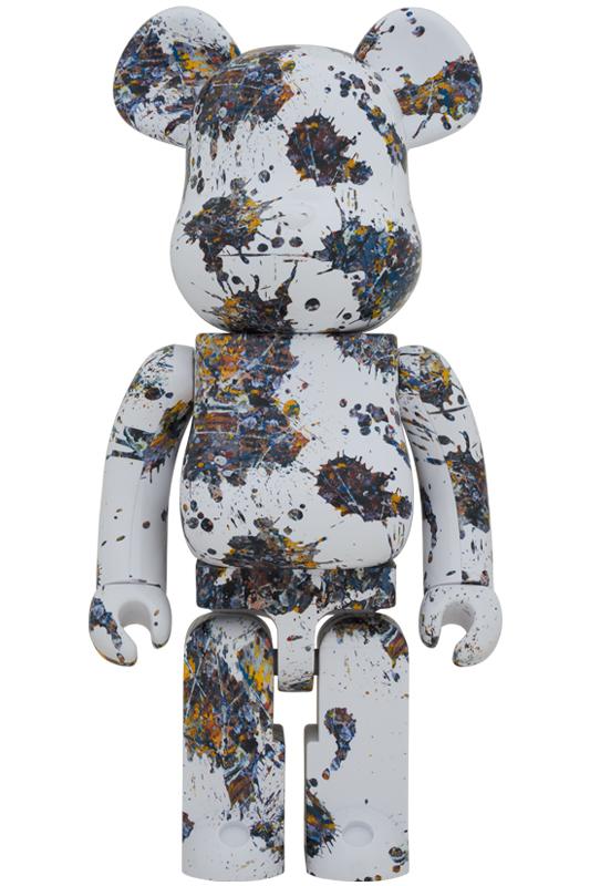 BE@RBRICK Jackson Pollock Studio(SPLASH) 1000%《2021年1月発売・発送予定》