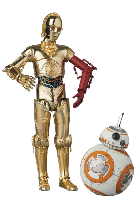 MAFEX C-3PO(TM) & BB-8(TM)