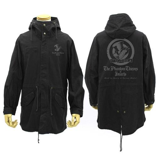【送料無料対象商品】コスパ ペルソナ5 心の怪盗団 M-51ジャケット BLACK