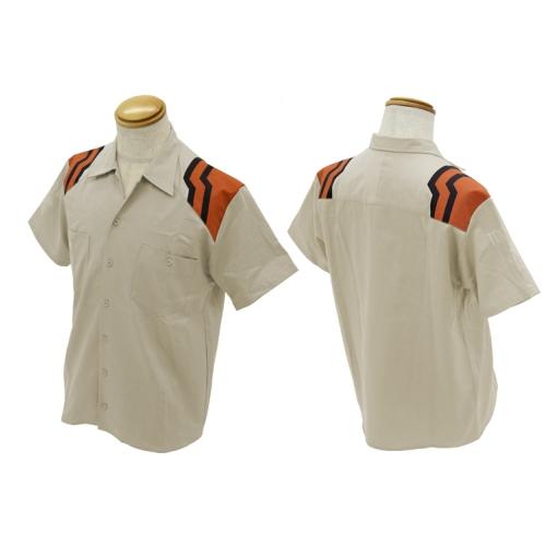 【送料無料対象商品】コスパ EVANGELION ネルフ制服 デザインワークシャツ