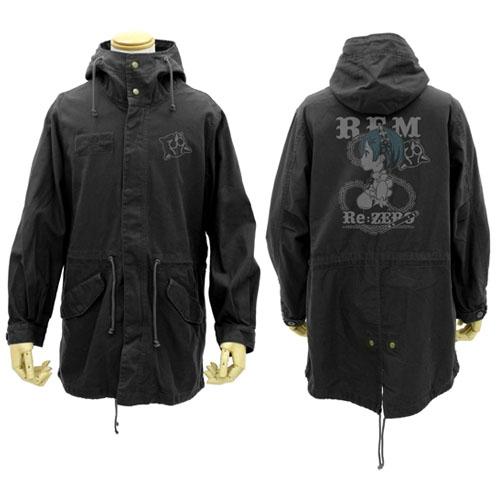 【送料無料対象商品】コスパ Re:ゼロから始める異世界生活 レム M-51ジャケット BLACK