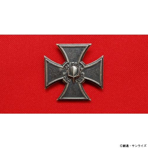 コスパ 機動戦士ガンダム メーカー在庫限り品 ジオン勲功十字章ピンバッジ 高級