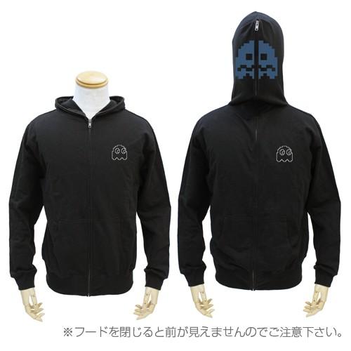 【送料無料対象商品】コスパ パックマン パックマン フルジップパーカー BLACK