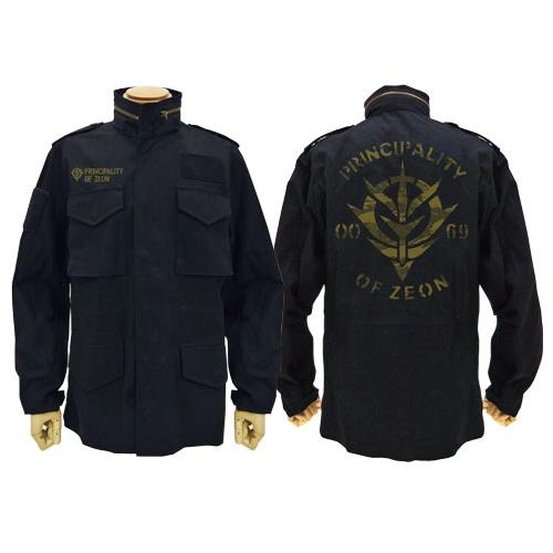 【送料無料対象商品】コスパ 機動戦士ガンダム ジオン公国M-65ジャケット BLACK