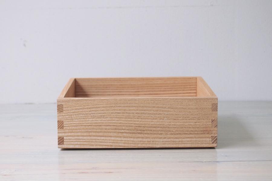 松屋漆器店 白木 6寸一段重 内白木 (身のみ)