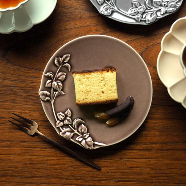 スタジオエム スタジオM' 食器 皿 プレート16cm デザート ケーキ 取り皿 ギフト Mint ミント 160プレート ブラウン STUDIO M' 新品 商品追加値下げ在庫復活 送料無料