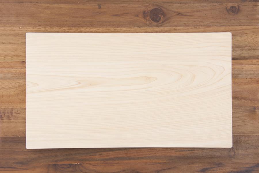 土佐龍 四万十ひのき 一枚板まな板 27×48 / TOSARYU