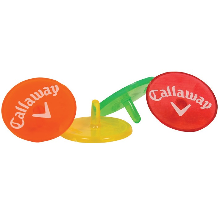 Callaway Neon Ball 全品送料無料 Marker 8CT ボールマーカー ネオン キャロウェイ 8個入り 送料無料 激安 お買い得 キ゛フト