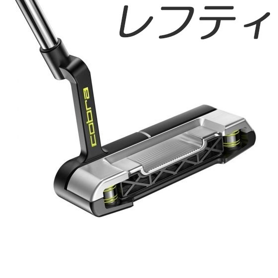 NEWモデル Cobra 期間限定で特別価格 Golf King 3D 人気 Printed Grandsport-35 Putter コブラゴルフ プリント レフティモデル グランドスポーツ パター 35 キング