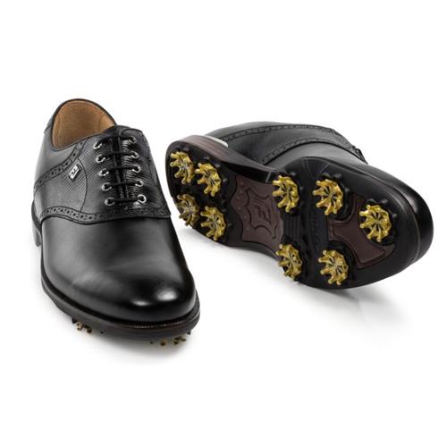 FootJoy ICON Black Golf Shoes フットジョイ アイコン ブラック ゴルフ シューズ