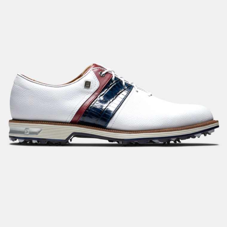 トレンド FootJoy Premiere Series - Packard Shoes White シューズ 限定特価 Red パッカード ゴルフ Navy フットジョイ