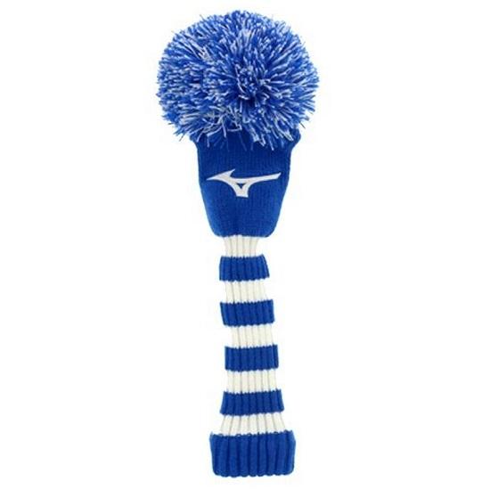 Mizuno 最新 USA Knit サービス Pom Fairway Head フェアウェイウッド用 Cover ミズノUSA ヘッドカバー ニットポンポン