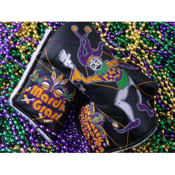 Scotty・Cameron 2012 Mardi Gras Jester Headcover Black スコッティ キャメロン 2012 マルディグラジェスター パターカバー 99895