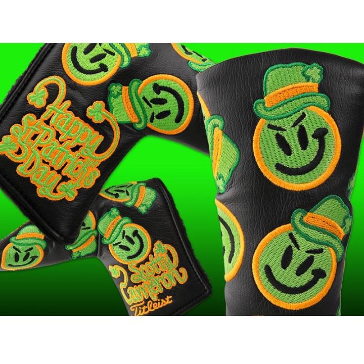 Scotty・Cameron 2013 St.Patricks Day Grinder Headcover Black スコッティ キャメロン 2013 セントパトリクスデー グラインダー パターカバー 100203