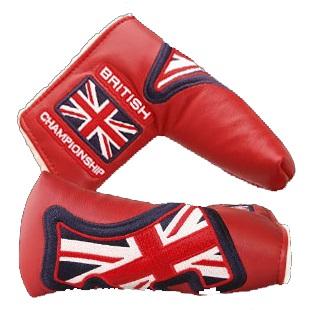 Scotty・Cameron 2011 British Open Championship Leather Headcover Red スコッティ キャメロン 2011 ブリティッシュ オープン レザー ヘッドカバー 99699