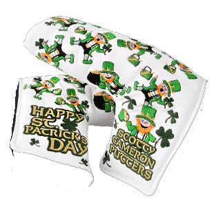 Scotty・Cameron 2014 St.Patrick's Day Headcover スコッティ・キャメロン 2014 セント パトリック デイ パターカバー ホワイト 100446