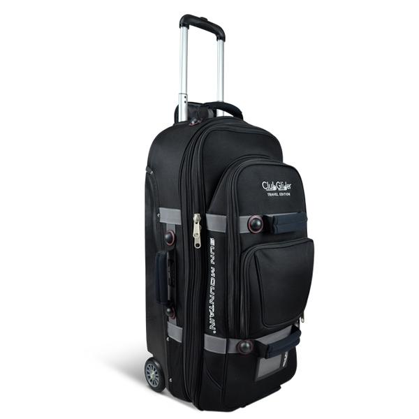 高質 Sun Mountain グライダー Travel Glider Suitcase Black サン スーツケース マウンテン トラベル サン グライダー ブラック スーツケース, セブンマルシェ:055ec24b --- canoncity.azurewebsites.net