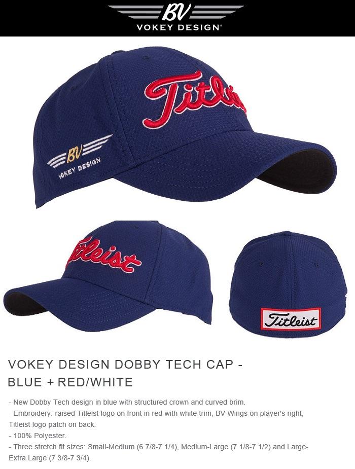 楽天市場 Titleist Vokey Design Dobby Tech Cap-Blue+Red White ... 04d19c2407e8