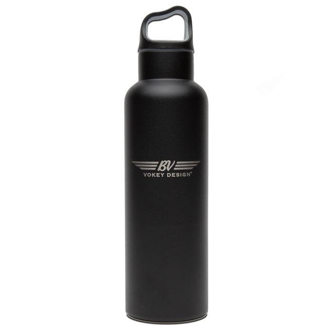 超レア 数量限定 Vokey Wings Stainless Steel Sport Bottle Bottle-Black ファクトリーアウトレット スチール Titleist ボーケイ ボトル ステンレス タイトリスト ●手数料無料!! ウィングス