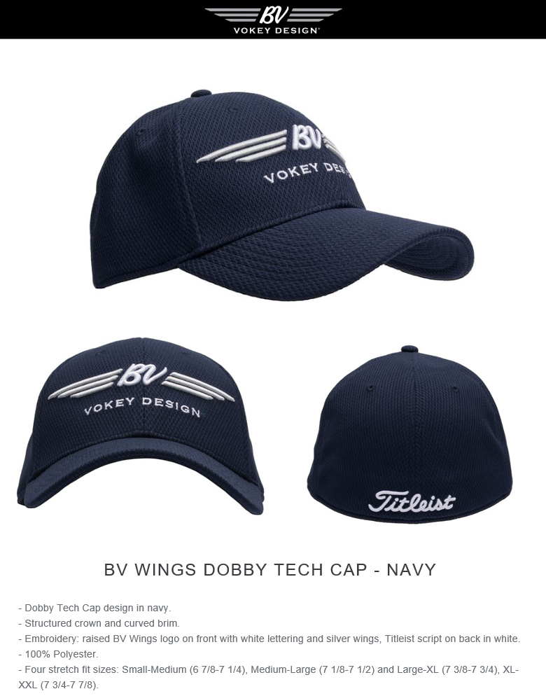 楽天市場 Titleist Vokey BV Wings Dobby Tech Cap Navy タイトリスト ... 76f0d77ce9f