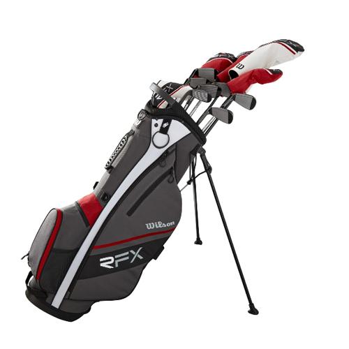 Wilson Staff Men's Reflex Complete Golf Club Stand Bag Set ウィルソンスタッフ メンズ リフレックス コンプリート スタンドバッグ クラブセット