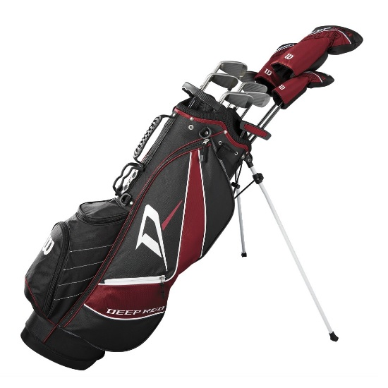 Wilson Staff Deep Red Tour Complete Golf Carry Club Set ウィルソン ディープ レッド ツアー コンプリート クラブセット