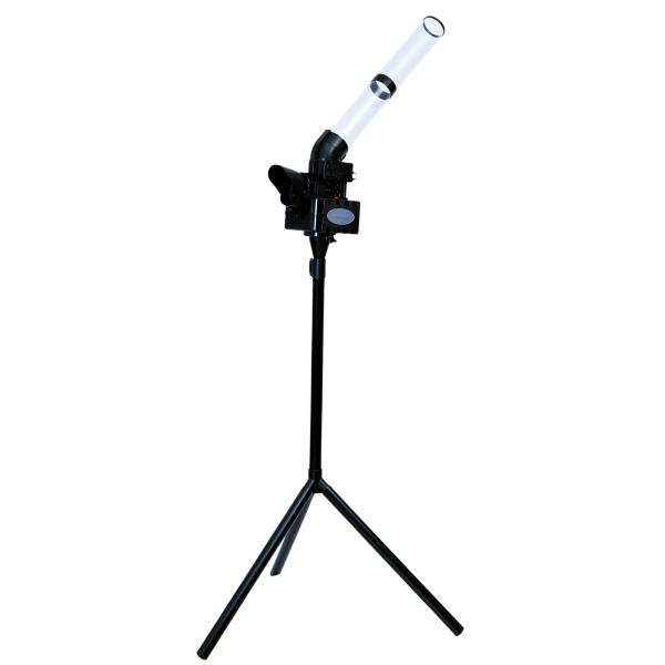 送料無料PROMARK・プロマーク シャトルマシン CT-015BK ブラック (バトミントン 野球 練習器具 練習マシン トスマシン バッティング バッティングマシン)