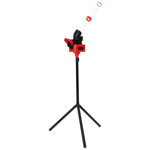 送料無料訳あり アウトレット 箱ダメージCALFLEX・カルフレックスCT-015 レッド シャトルマシン(バドミントン 練習器具 練習マシン トスマシン)
