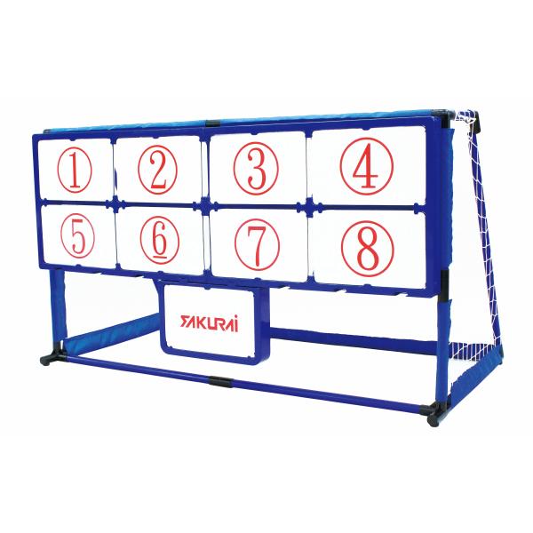 送料無料 EnjoyFamily.エンジョイファミリー マジックナインサッカー EFS-182(N21) (ストラックアウト サッカー キック ターゲット キックターゲット キック練習 ボード 子供 子ども 遊び ゲーム トレーニング 安全 省スペース)