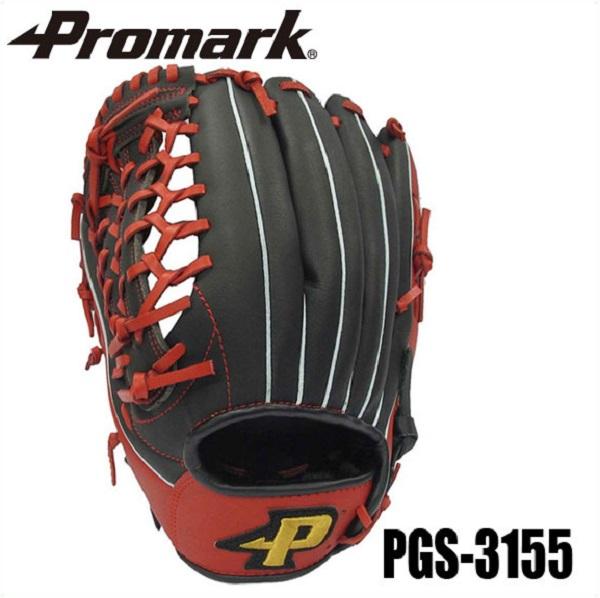 あす楽 送料無料 PROMARK・プロマーク ソフトボール 一般用グローブ 左利き オールラウンド用 PGS-3155 (ソフトボール グローブ グラブ 左投げ 左利き 一般用 オールラウンド ソフトボールグラブ やわらか 3号球)