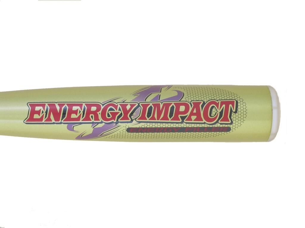 送料無料 M号球対応PROMARK・プロマーク エナジーインパクト 軟式一般用バット イエロー 84cm(軟式 バット 大人 バッティング 野球 野球用品 グッズ ベースボール スポーツ用品)