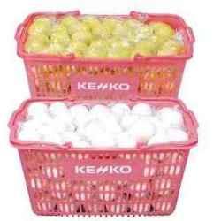 (ソフトテニスボール) 10ダース 【kb】 【smtb-k】 ケンコー ソフトテニスボールかご入りセット 練習球