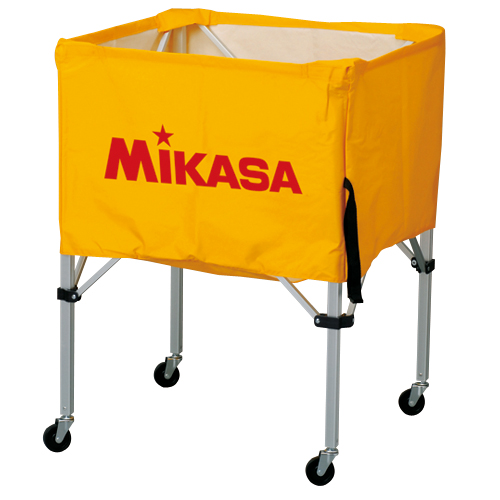 ミカサ 【MIKASA】 ボールカゴ (フレーム・幕体・キャリーケース3点セット) BC-SP-S-Y 1005_flash 02P03Dec16