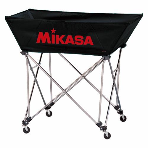 ミカサ 【MIKASA】 舟形ボールカゴ (フレーム・幕体・キャリーケース3点セット) BC-SP-WL-BK 1005_flash 02P03Dec16