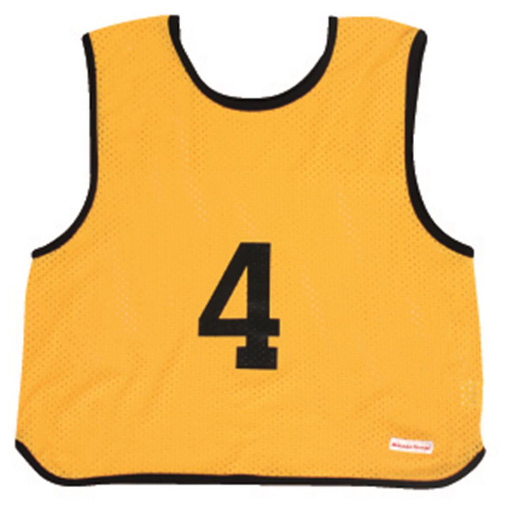 【MIKASA】ミカサ ゲームジャケット ソフトバレー用レギュラーサイズ 10枚セット ホワイト/蛍光イエロー/蛍光グリーン/蛍光オレンジ/蛍光ピンクgjsv10-yl-bk 02P03Sep16