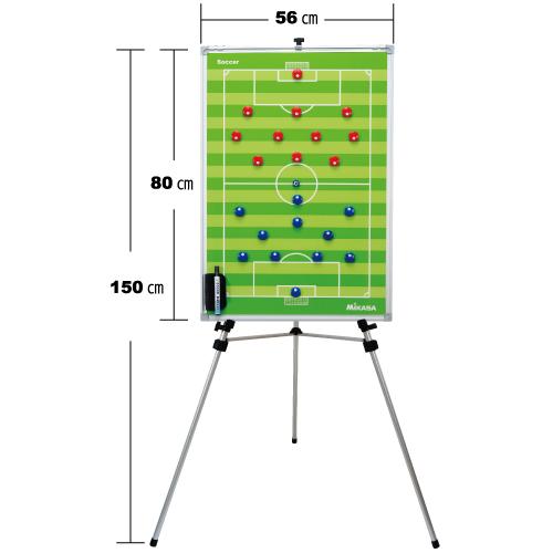 ミカサ 【MIKASA】 サッカー特大作戦盤 (三脚付) SBFXL 1005_flash 02P03Dec16