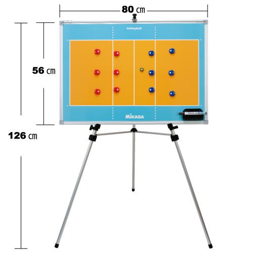 ミカサ 【MIKASA】 バレーボール特大作戦盤(三脚付) SBVXL 1005_flash 02P03Dec16