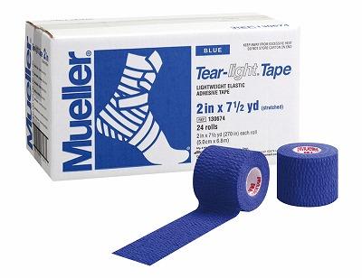 【ミューラー MUELLER】 ティアライトテープ ブルー 50mm 1箱(24個入り) 1005_flash 02P03Dec16