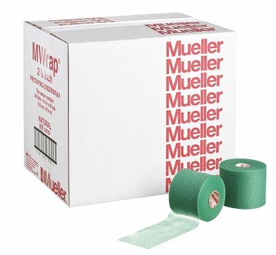 【ミューラー MUELLER】 Mラップカラー 70mm ビッググリーン 1箱(48個入り) 1005_flash 02P03Dec16
