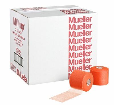 【ミューラー MUELLER】 Mラップカラー 70mm ビッグオレンジ 1箱(48個入り) 1005_flash 02P03Dec16
