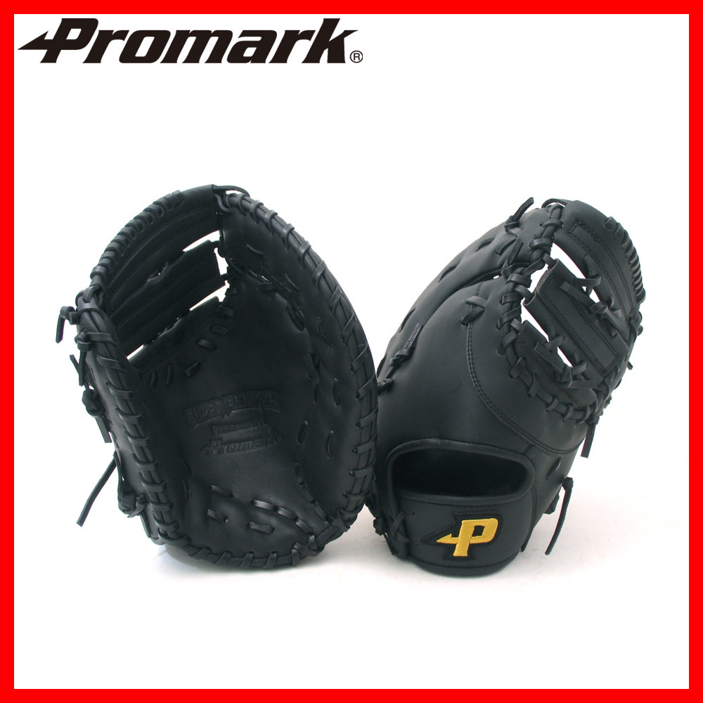 送料無料PROMARK・プロマーク 左投げ用野球グローブ pfm-7795(野球 グローブ 軟式 ファーストミット 一般 左きき 左利き)
