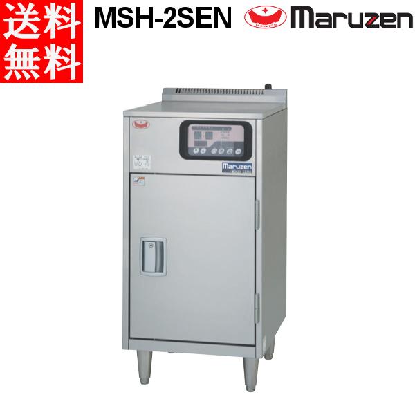 マルゼン 食器消毒保管庫(電気式) 100Vタイプ MSH-2SEN 奥行1列・片面扉 W500×D600×H1000 食器カゴ無