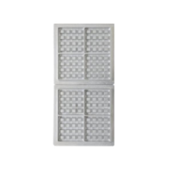 サンテック マルチベーカーMAX 専用交換プレート ベルギーワッフル 正角型 4個取 小(4個)