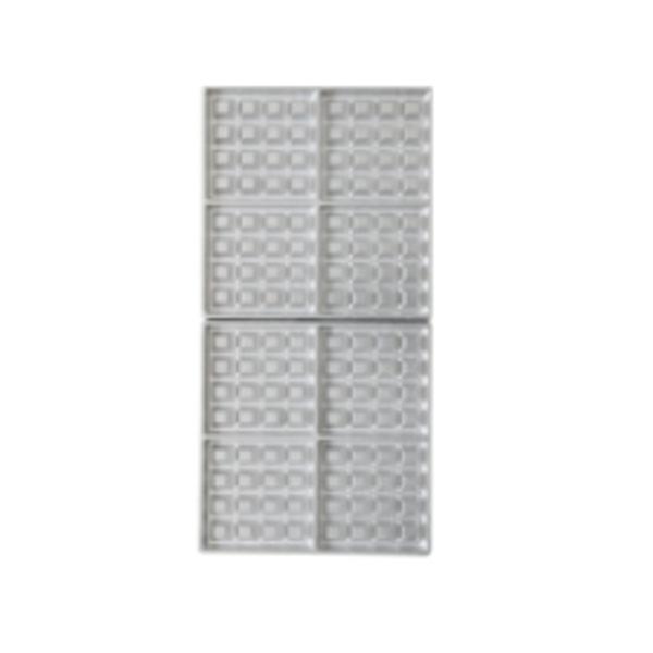 サンテック マルチベーカーMAX 専用交換プレート ベルギーワッフル 正角型 4個取 大(4個)