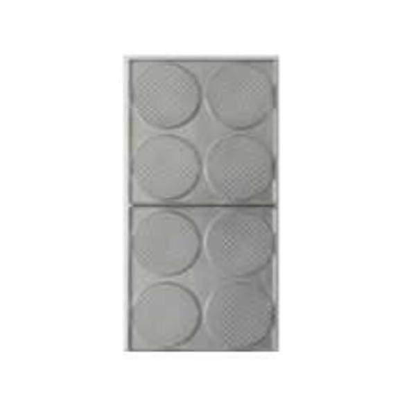サンテック マルチベーカーMAX 専用交換プレート ゴーフレット 丸型 4個取