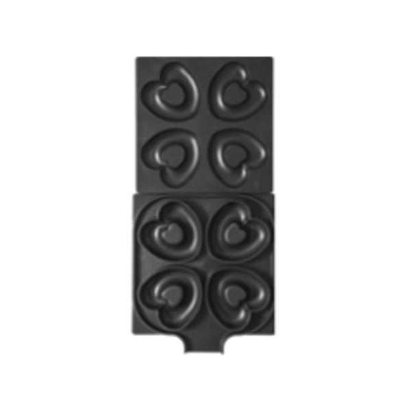 サンテック マルチベーカーMAX 専用交換プレート ベイクドハートドーナツ(4個)